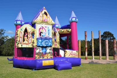 Disney Princess 5in1 Combo Jumping Castle