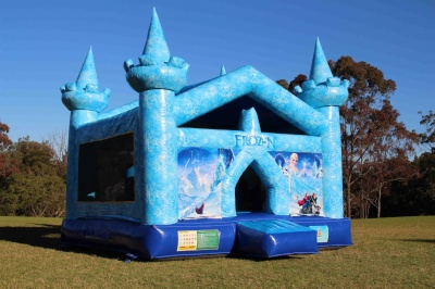 Elsa's Frozen Jumping Castle