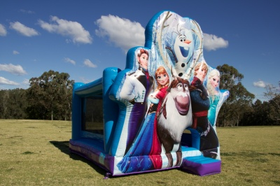 Frozen Team Jumping Castle