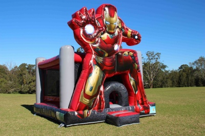 Iron Man Jumping Castle