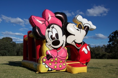 Mickey & Minnie Mouse Jumping Castle