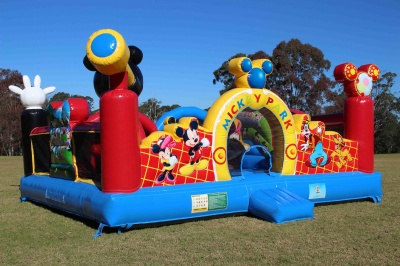 Mickey Mouse Clubhouse Jumping Castle
