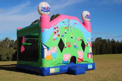 Peppa Pig & George Combo Jumping Castle