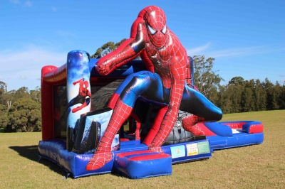 spider-man-combo-jumping-castle-hire-sydney