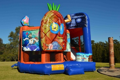Spongebob 5in1 Combo Jumping Castle