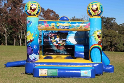 Spongebob Jumping Castle