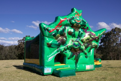 Teenage Mutant Ninja Turtles Dual Slide Combo Jumping Castle